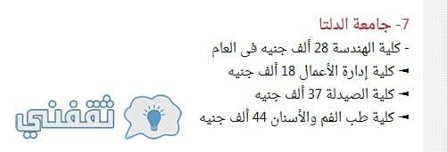 الجامعات في مصر