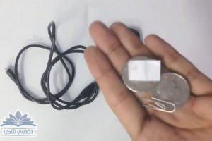 """بالخطوات المصورة : طريقة شحن الهاتف """"بجنيهين فضة"""" بدون كهرباء أو شاحن"""