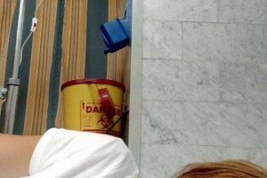صور ريهام سعيد في المستشفى بعد أصابتها بإغماء مفاجئ