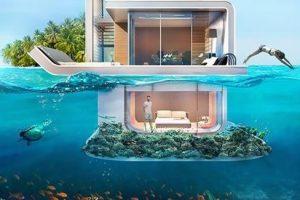 بالصور.. فيلا تحت الماء في دبي