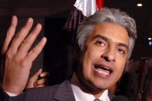 صورة الإخواني الذي اعتدى على الإعلامي وائل الإبراشي في أمريكا