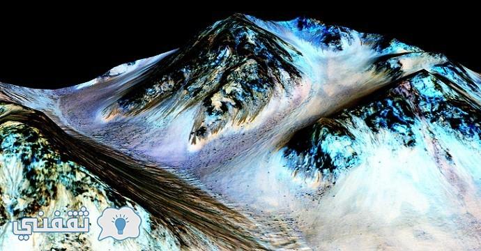 وجود الماء على المريخ