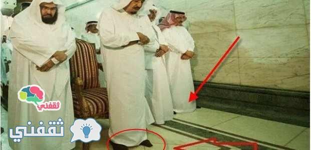 الملك سلمان داخل الجامعة