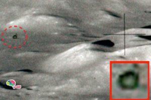 وكالة ناسا تعلن عن اكتشاف جسم غريب على سطح القمر