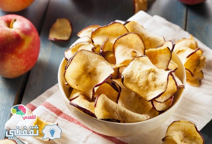 شيبسي التفاح المقرمش