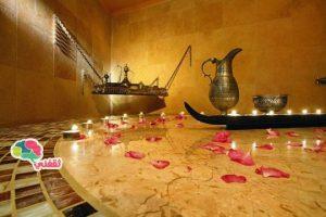 طريقة عمل الحمام المغربي للعروسة في البيت بأقل التكاليف والنتائج رائعة