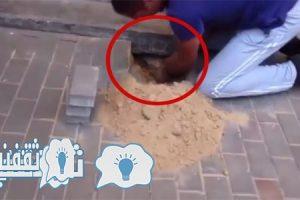 بالفيديو | شاهد ماذا وجد صاحب بيت تحت الأرض ،عندما سمع أصوات غريبة ومرعبة صادرة من تحت البلاط