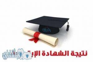 نتيجةالشهادة الابتدائية 2017 لترم الأول فى محافظات القاهرة ، الأسكندرية ، الجيزة
