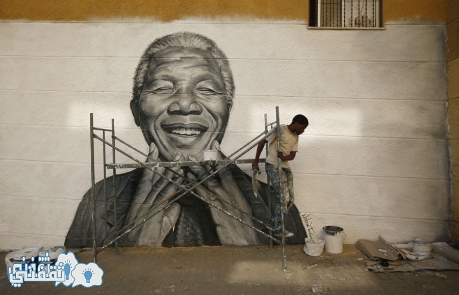 الزعيم نيلسون مانديلا