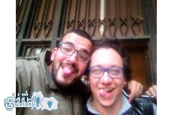 اول صورة لاسلام جاويش بعد اخلاء سبيله ثقفني