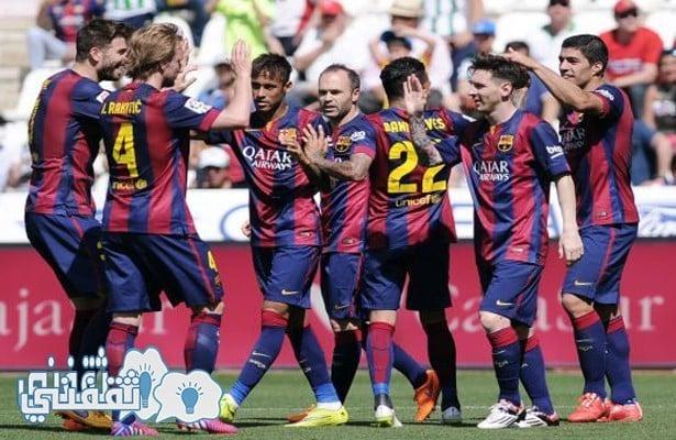 تشكيلة فريق برشلونة امام فالنسيا اليوم الاربعاء