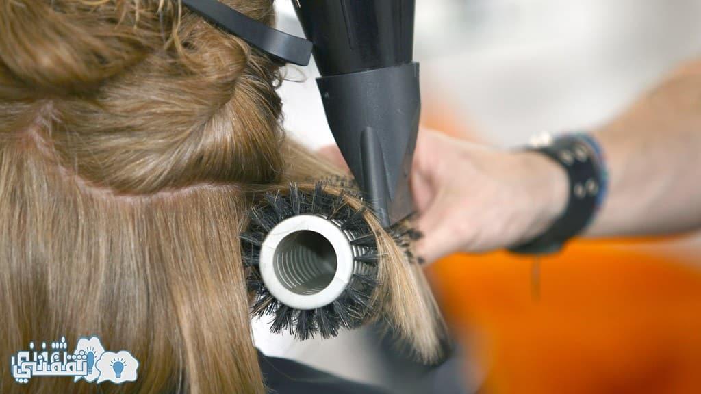 الاتجاة الصحيح لمصفف الشعر