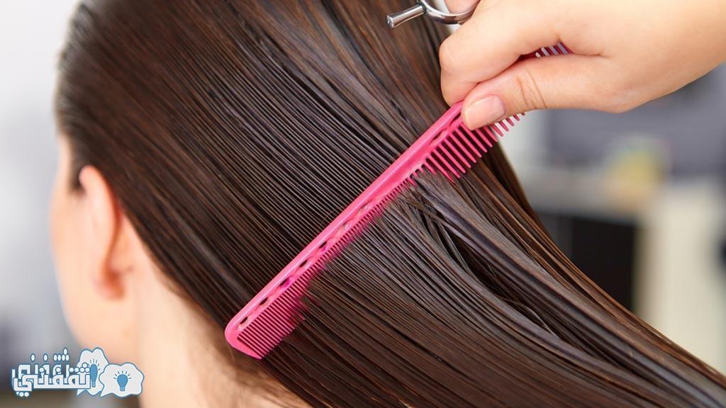 اضرار السيشوار على الشعر المبلل