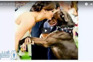 فتاة أمريكية تتزوج من كلبها والسبب غريب جدا شاهد بالفيديو ماذا فعلت الفتاه الامريكيه التي تزوجت الكلب