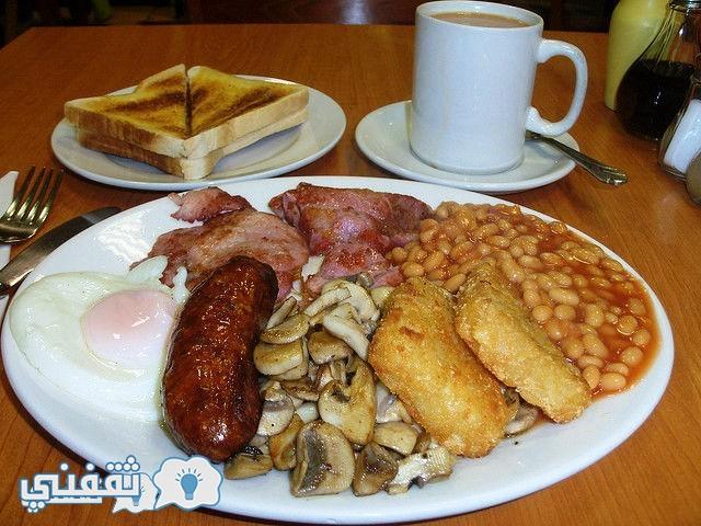 وجبة الإفطار في إنجلترا