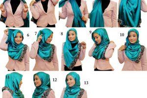 أسهل 4 طرق تساعدك في لف الحجاب بدون دبوس