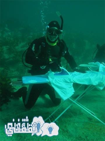 ExtremeUnderwaterIroning