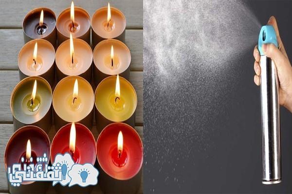 معطرات الجو والشموع المعطرة