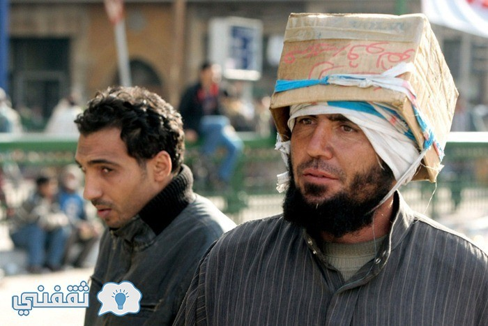 بالصور .. لقطات مضحكة أيام ثورة 25 يناير المجيدة (5)