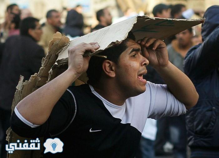 بالصور .. لقطات مضحكة أيام ثورة 25 يناير المجيدة (7)