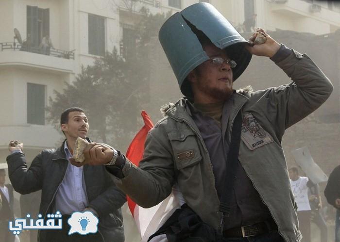 بالصور .. لقطات مضحكة أيام ثورة 25 يناير المجيدة (8)