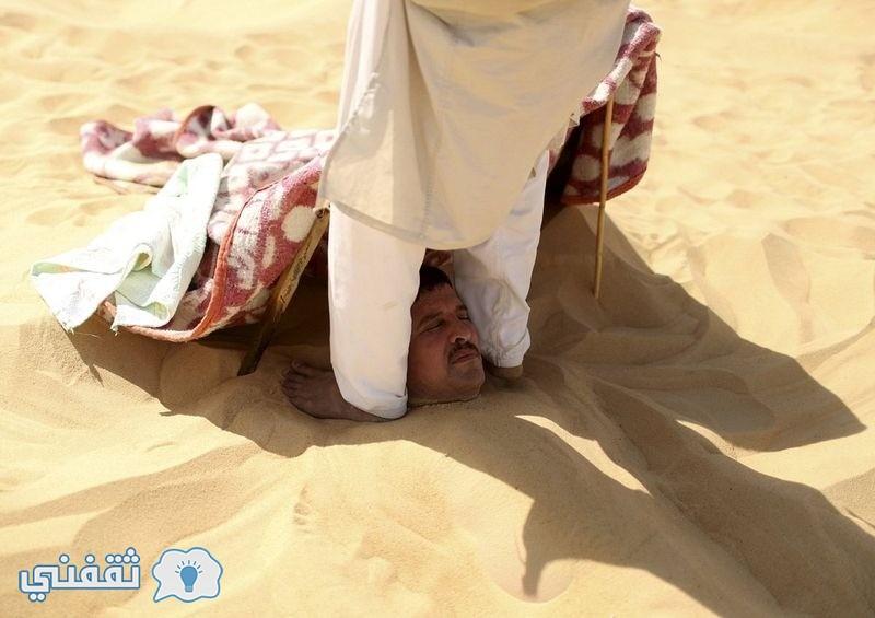 بالصور.. العلاج بالرمال في واحة سيوة (10)