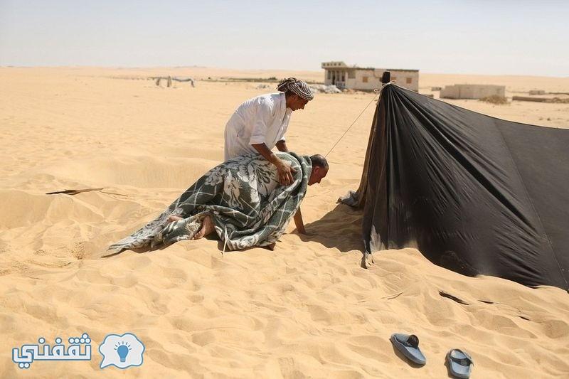 بالصور.. العلاج بالرمال في واحة سيوة (3)