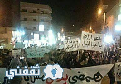 صورة مظاهرات الشرقية فجر يوم الجمعة