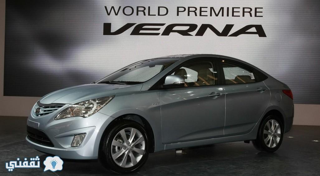 هيونداى فيرنا 2016 Hyundai Verna