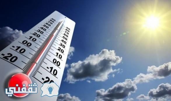 درجات الحرارة المتوقعة غدا واليوم وحالة الطقس فى مصر