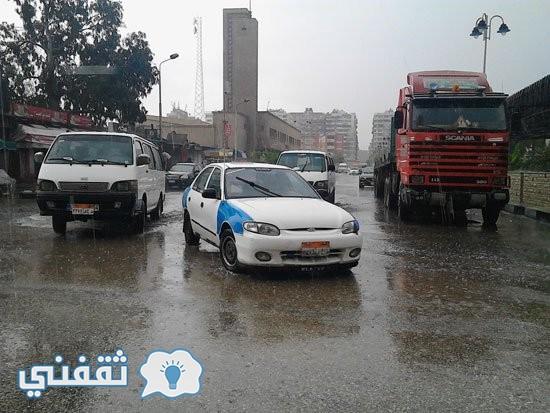 غرق-شوارع -بورسعيد