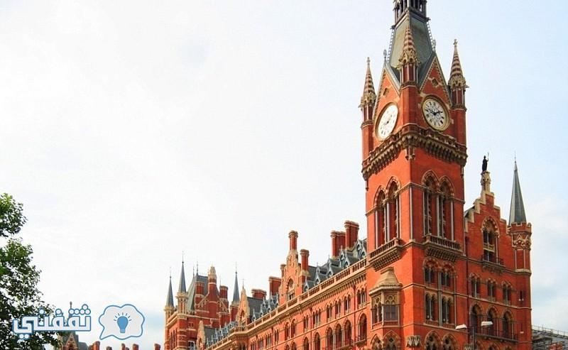 انت بانكراس كاتدرائية السكك الحديدية التي توصل بين لندن وجاراتها الأوروبيات
