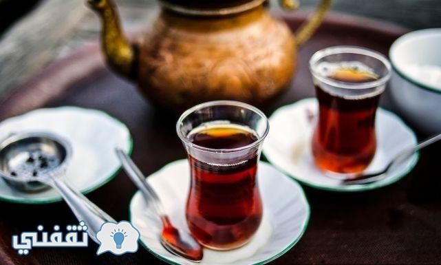 طريقة عمل الشاى