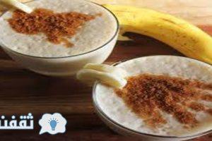 عصير الموز بالقرفة معجزة لحرق الدهون والنوم الهادئ فقط تناول كوب واحد قبل نومك بساعة