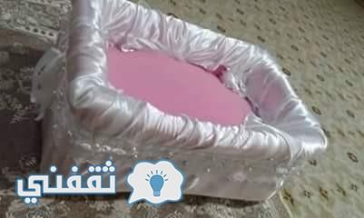 طريقة عمل سرير الأطفال
