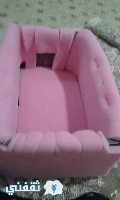 كيفية عمل سرير الأطفال