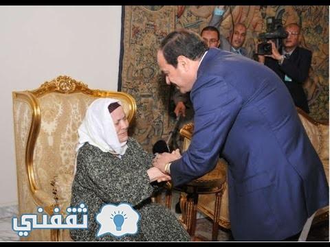 الحاجة زينب صاحبة القرط الذهبي التي تبرعت به لصندوق تحيا مصر