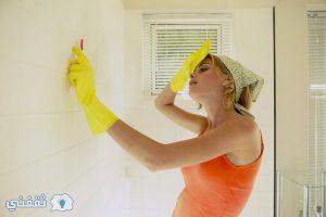 مفاجأة جديدة لتنظيف حوائط المنزل وإزالة البقع الصعبة وبدون تعب