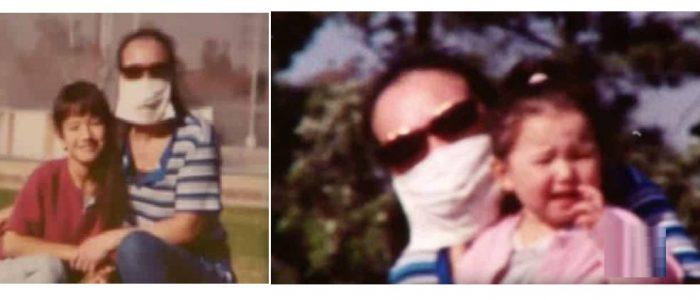 سيدة ترتدي قناعا على وجهها لمدة 12 عاما لتخفي عنف زوجها