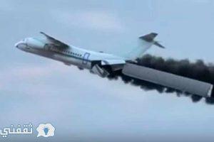 بالفيديو | طيار ينقذ طائرته والركاب من السقوط بقرار غريب وشجاع