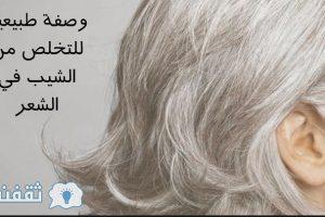 """وصفة مغربية سحرية مجربة لإعادة اللون الأسود للشعر الأبيض """" الشيب"""" من جديد بدون أي آثار جانبية"""