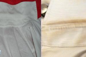 تنظيف ياقة القميص بطرق مذهلة لتصبح ناصعة البياض واكثر نظافة