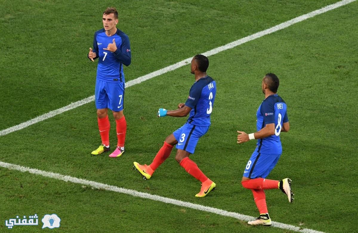 نتيجة مباراة ألمانيا وفرنسا
