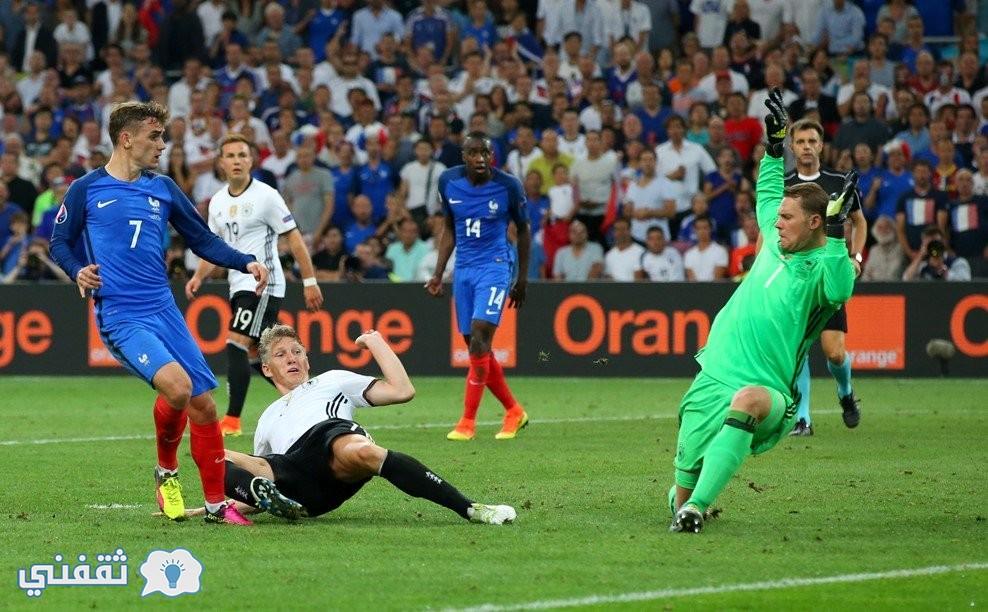 نتيجة مباراة ألمانيا وفرنسا اليوم