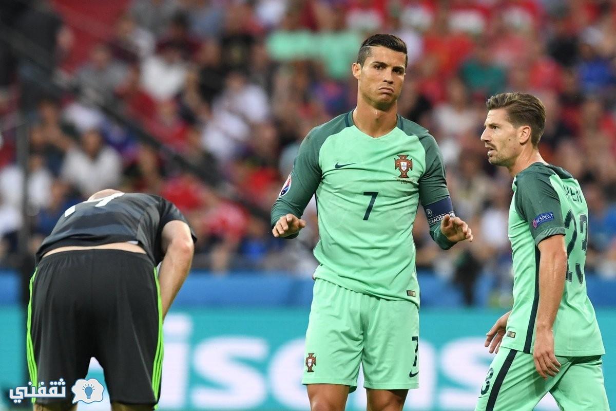 نتيجة مباراة البرتغال وويلز