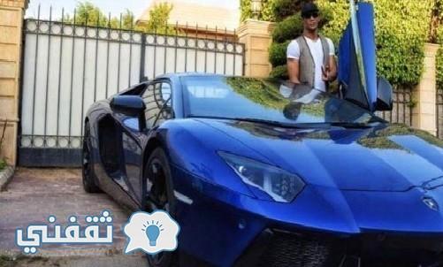 سيارة -محمد-رمضان-لامبور-جيني-افنتادور