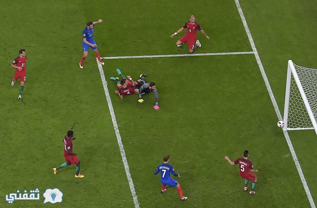 نتيجة مباراة البرتغال وفرنسا