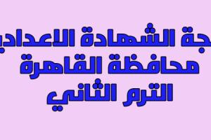 نتيجة الشهادة الإعدادية محافظة القاهرة 2017 برقم الجلوس نتيجة الصف الثالث الإعدادي بالقاهرة الترم الثاني