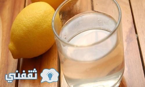 الماء الفاتر و الليمون و خسارة 10 كيلو – رجيم الماء و الليمون الناجح   رجيم المشاهير