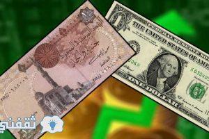 اسعار الدولار الامريكى بالبنوك والسوق السوداء لهذا اليوم